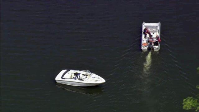 Emergency crews were called to Shearon Harris Reservoir Wednesday morning to search for a missing person.