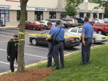 Raleigh police were investigating an armed robbery at a market on Atlantic Springs Road Thursday morning.