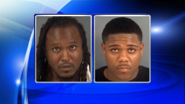 Terekus Derrell Rogers, 34, and victim Algeria Khalyid McNair, 21, were charged in connection to a shooting at Smokey Bones restaurant in Fayetteville on May 10.