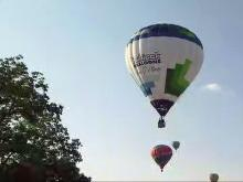 Weather conditions must be perfect for balloon pilots