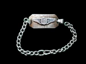 More than 70 years ago, working as an airplane mechanic at an Air Force base in Texas, Graham Tannery of Raleigh found a bracelet bearing the first initial and last name of a fellow airman.