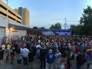 Several candlelight vigils were being held across North Carolina, including one at Legends Nightclub in downtown Raleigh.