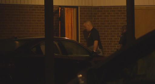 One man was taken to the hospital early Thursday morning after he was shot inside a Fayetteville home.
