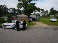 Fayetteville police on Wednesday night began a death investigation after two people were found dead inside a home.