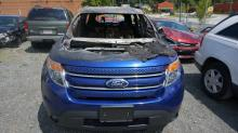Cary police say the men who robbed a Cary home on June 16, 2016, later burned a Ford Explorer they stole from the home.
