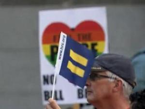 """A """"Rally Agasint Hate"""" was scheduled to take place Wednesday night in downtown Raleigh."""