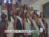 2016 Miss North Carolina to be crowned Saturday night