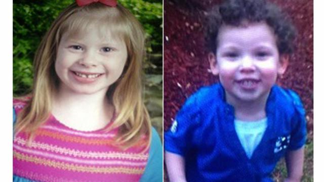 Linsley Beam, 6, is white with blonde hair and was last seen wearing a pint shirt and pink flip-flops. Antonio Beachamp, 2, is white with dark brown hair. He was wearing only a diaper when they were last seen near Sherwood Park Elementary School on Hope Mills Road.