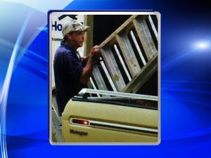Man caught on camera stealing from Fayetteville construction site