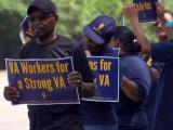 VA workers protest plan to privatize veterans care