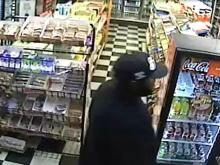 Suspect in Fayetteville gas station robbery filmed on surveillance camera