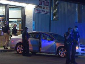 Driver shot, killed in car parked at Fayetteville business
