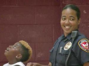 Durham police make time to play with kids