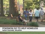 Pokemon go to help the homeless