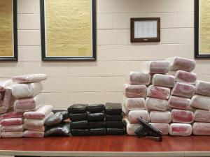 82 kilos of suspected cocaine seized from Hillsborough home