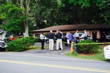 The Wake County Sheriff's Office was investigating a shooting at a privately owned Raleigh gun shop Tuesday afternoon after an attempted robbery led to an exchange of gunfire.