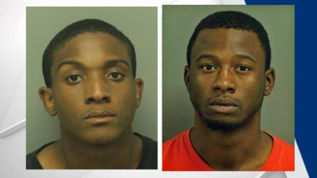 Javorie Ammon Thompson, 18, and Zyreek Avery Braxton, 17, face murder charges after Friday's shooting of a 31-year-old Raleigh man.