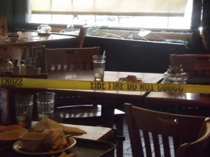 No injuries were reported after a car drove into a Moore County Cracker Barrel restaurant Sunday afternoon.