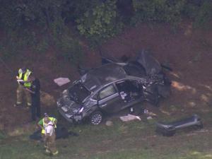 Robeson I-95 crash