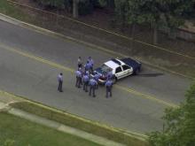 RAW: Sky 5 flies over east Raleigh shooting scene