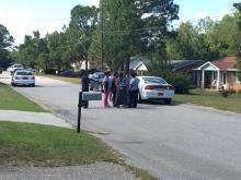 Police were called to a home in the 100 block of Diane Circle where a man said he had shot and killed his wife and daughter.
