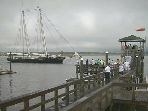 Historic sailboat makes stop in NC