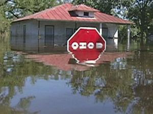 Hurricane Floyd struck North Carolina on Sept. 16, 1999, 10 days after Tropical Storm Dennis dumpted up to 6 to 16 inches of rain across the eastern part of the state. The ground was already saturated when Floyd hit, dumping another 12 to 20 inches.