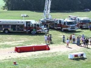 The Cary Fire Department kicked off Fire Prevention week with an event at Fred G. Bond Metro Park Oct. 4, 2008.