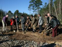 Chatham County school groundbreaking