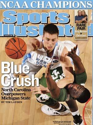 The April 13, 2009 cover of Sports Illustrated. (Image from Time, Inc.)