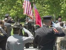 Web only: Wake County remembers fallen officers