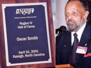 Oscar Smith began his career at WRAL-TV in March 1972. (Photo courtesy: The Carolinian)