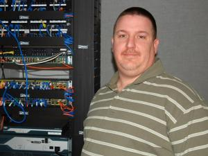 Craig Schulz, technical services supervisor for the Raleigh-Wake Emergency Communications Cente, was named Technician of the Year by the E9-1-1 Institute. (Photo courtesy of the Raleigh-Wake Emergency Communications Center)