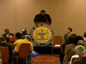 A forum for Senate candidates was held Saturday, March 13, 2010, during the North Carolina NAACP's Mid-Winter Conference in Raleigh.