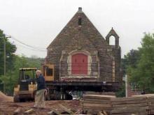 On the fifth and sixth days, man moved God's house