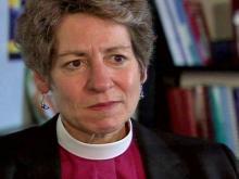 Web only: Bishop Katharine Jefferts Schori talks with WRAL