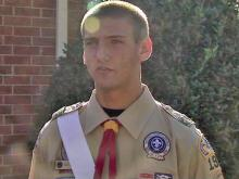 Eagle Scout recalls rescuing drowning friend