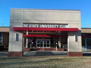 North Carolina State University showed off its completely renovated University Club in a celebration gala Saturday.