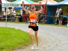 Kelcey Carlson Grandfather Mountain Marathon 2011 (Photo courtesy of Cecil & Erma Hudgins)