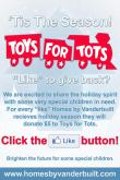 Homes by Vanderbilt, Toys for Tots