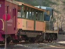 Train adventure is boy's wish come true