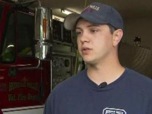 Brett Wrenn, an off-duty 911 dispatcher and auxiliary firefighter, is being credited for saving a life in a fatal Person County fire that he discovered on his way home early April 28, 2012.