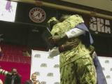 Navy mom returns for son's high school graduation