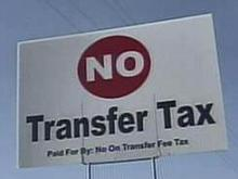 Beating transfer tax doesn't stop property tax increase