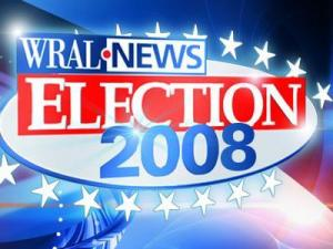 WRAL Election 2008 logo