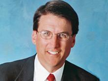 Charlotte Mayor Pat McCrory