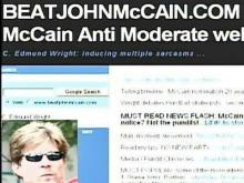 Conservative Blogger Takes on McCain