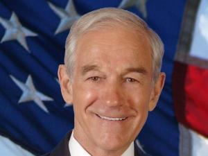 Republican presidential candidate Ron Paul