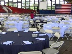 The event will be held at the North Carolina State Fairgrounds' J.S. Dorton Arena.