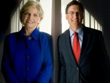 Beverly Perdue and Pat McCrory